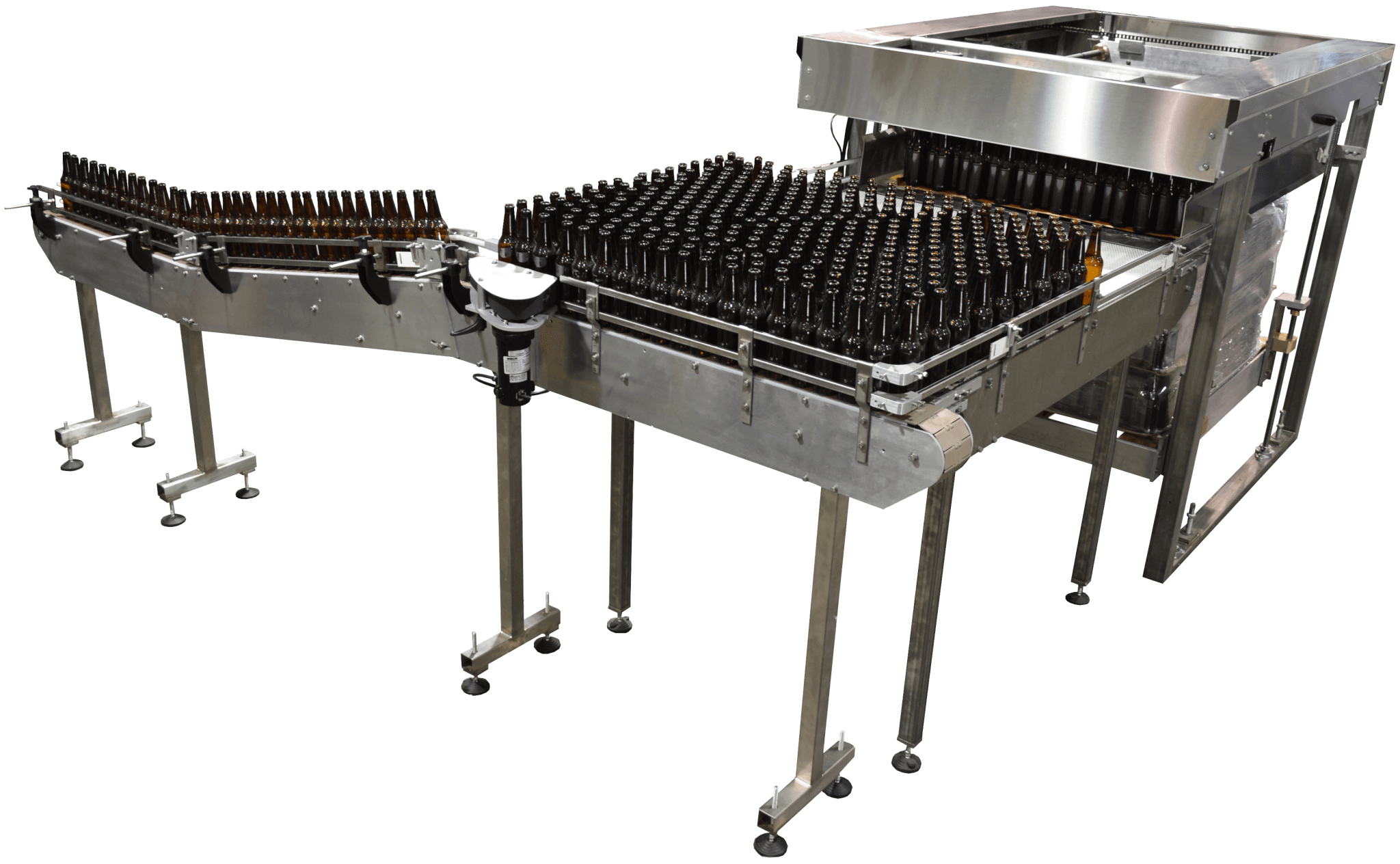 In-Line Packaging Bottling, Labeling, machines for Breweries