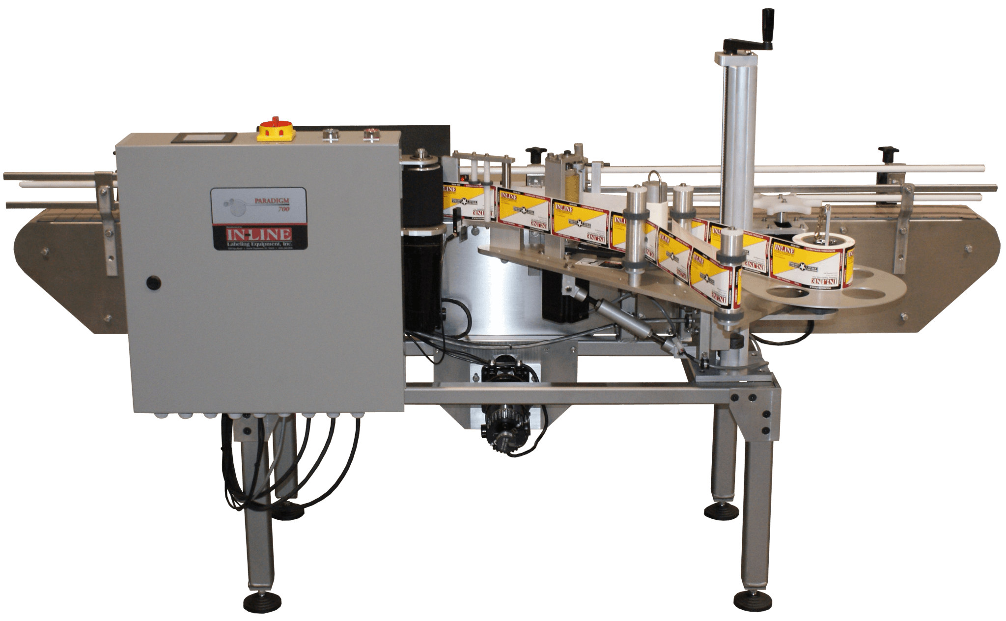 In-Line Packaging labeling machinery